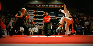 Swan kick